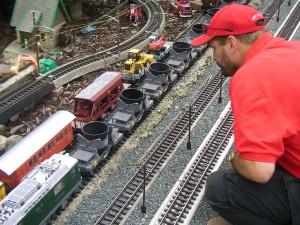Schauanlage für Modellbahnen in Eggersdorf